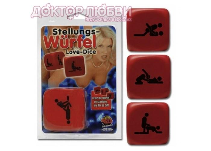 Игральные кубики РАЗНЫЕ ПОЗЫ 777994L - Сувениры - Секс-шоп (фистинг магазин